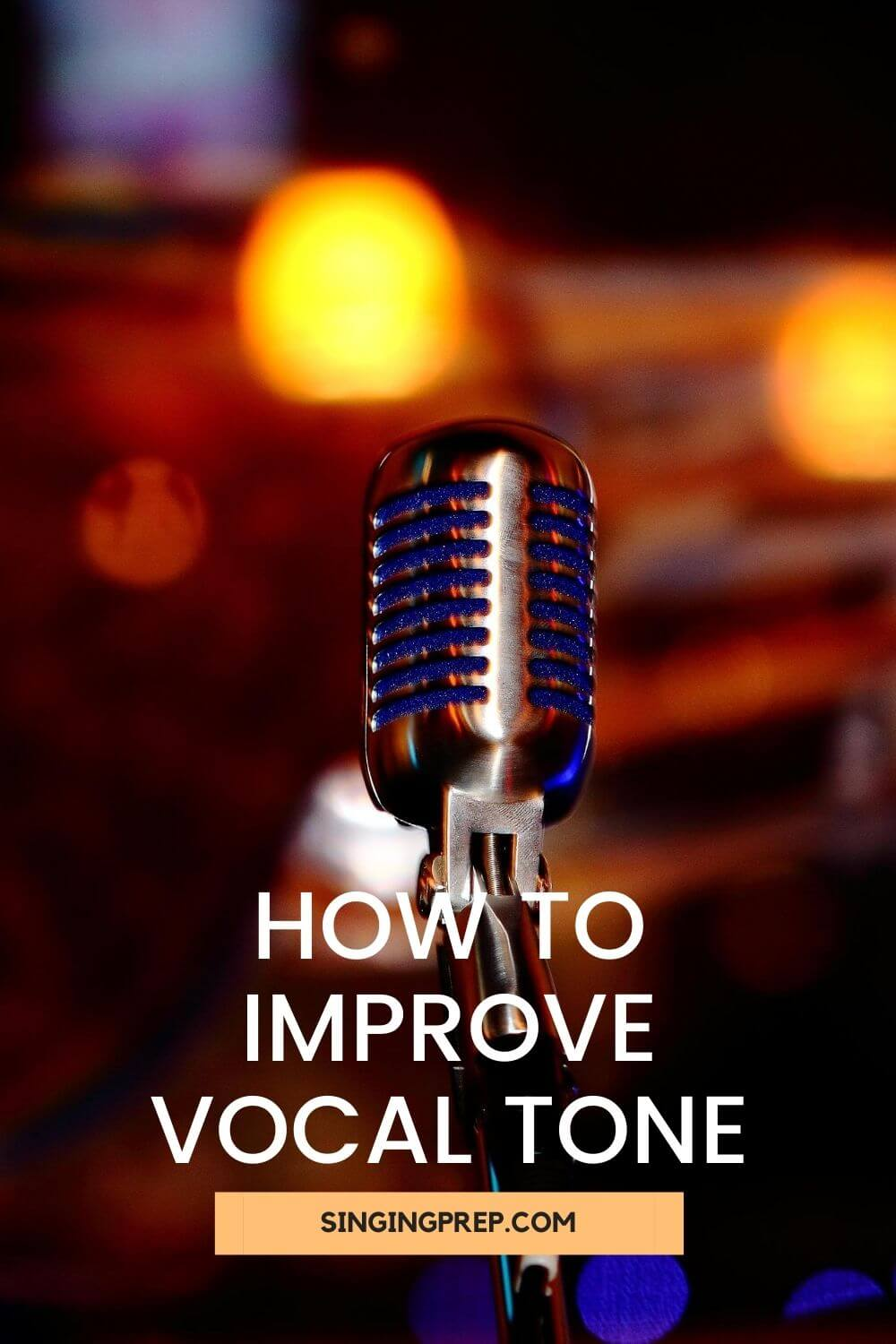 How to improve vocal tone pin