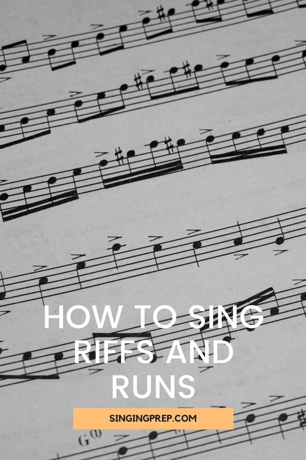 How to sing riffs and runs pin