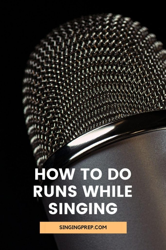 How to do runs while singing