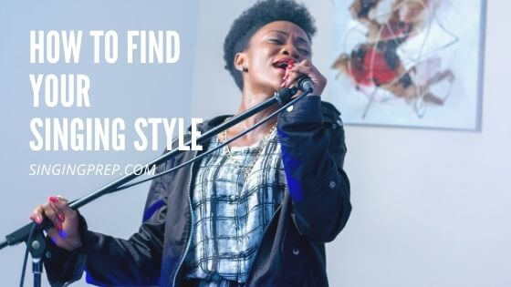 How to find your singing style featured